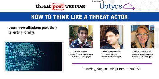 Uptycs Threatpost Webinar Reg Page
